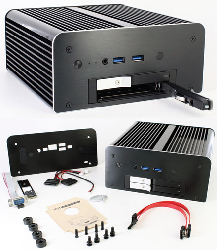 Akasa Max MT6 enclosure (for 5th and 6th Generation of Intel NUC) <b>[FANLESS]</b>