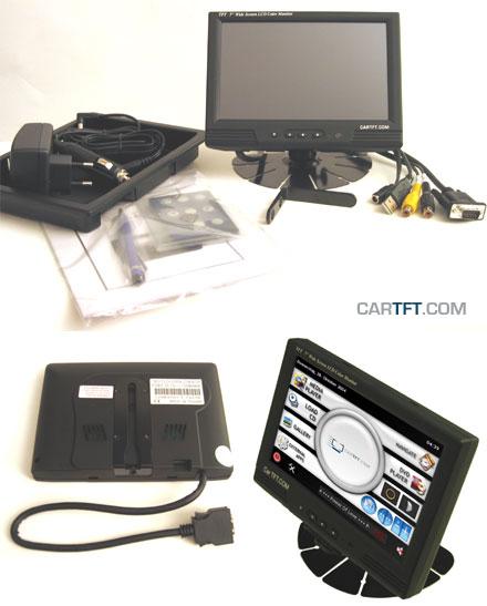"MM400 - VGA 7"" TFT - Touchscreen USB - PAL/NTSC - IR Remote - Audio [<b>LED-Backlight</b>]"