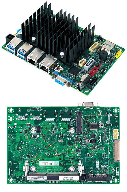 Mitac PD10AS 3.5-SBC (Intel Apollo Lake N4200, VGA+HDMI, Dual LAN)