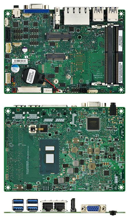 Mitac PD10KS 3.5-SBC (Intel Kaby Lake, i7-7600U, VGA+HDMI)