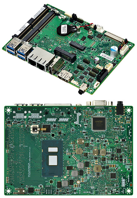 Mitac PD11KS 3.5-SBC (Intel Kaby Lake, i7-7600U, HDMI+dP)