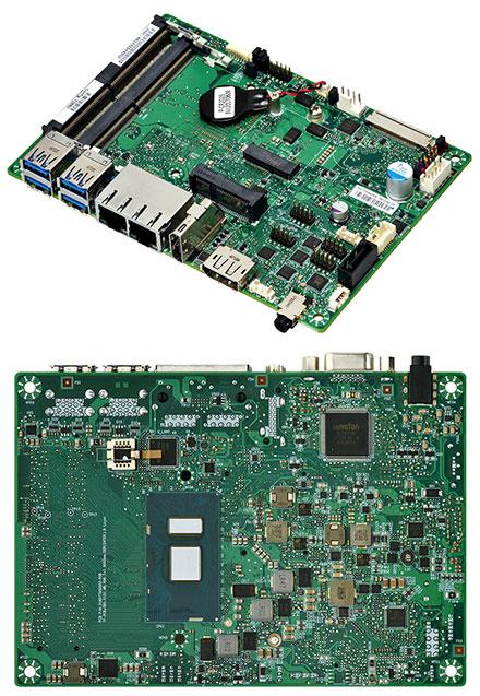 Mitac PD11KS 3.5-SBC (Intel Kaby Lake, Celeron 3965U, HDMI+dP)