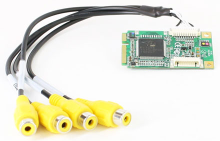 CarTFT VCC-310 Mini-PCIe (4x Video/Audio Capture Card)